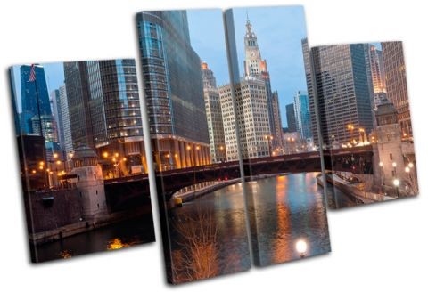 Chicago Cityscape City - 13-1160(00B)-MP17-LO